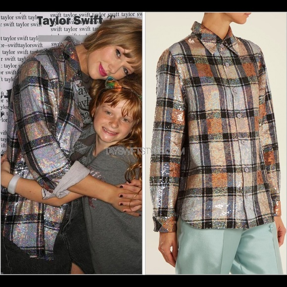 Ashish Tops - Ashish Sequin Shirt ASO Taylor Swift, XS